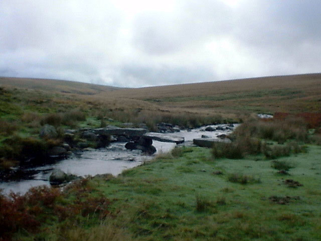 Clapper Bridge, River Avon, Dartmoor