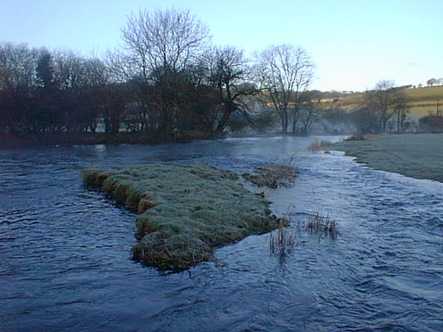 Early morning on the River Teifi