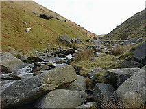 SN8575 : At the top of Cwm Ystwyth by Rog Frost