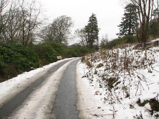Garvald road