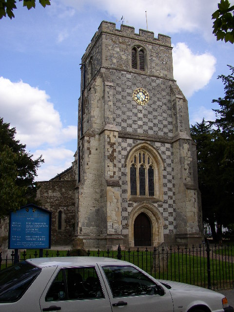 St Nicholas's Church, Barton in the Clay