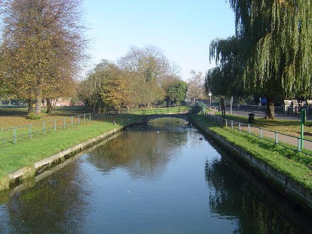 The New River, Broxbourne