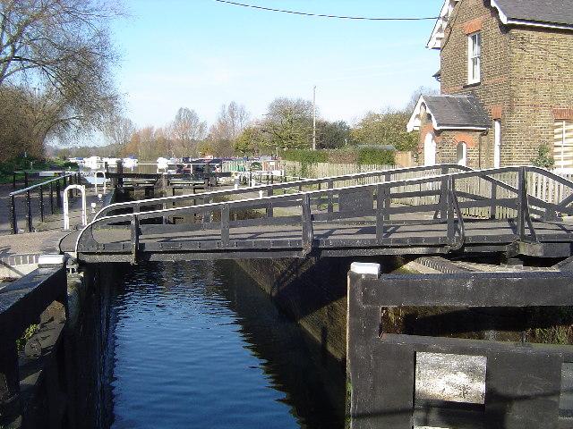 River Lee Navigation: Stanstead Lock