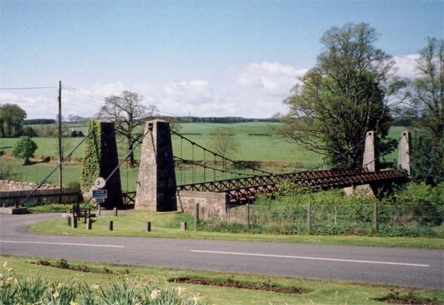 Old bridge at Kalemouth