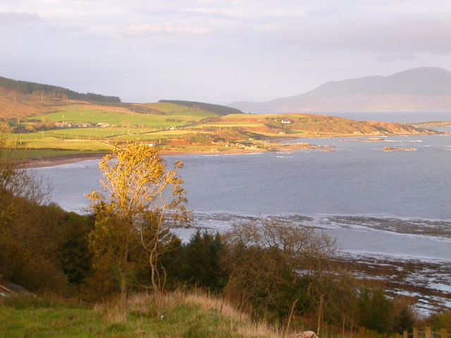Ardnacross Bay from south of Peninver, Argyll.