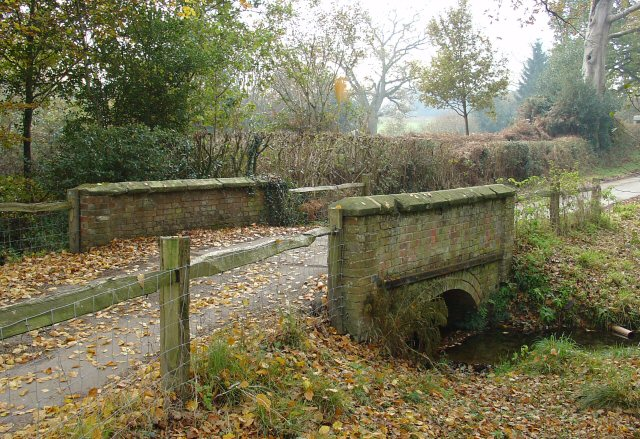 Bridge on Public Bridleway near Denmans Farm