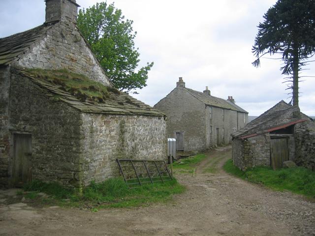 Closeup of Farmhouse at Craig