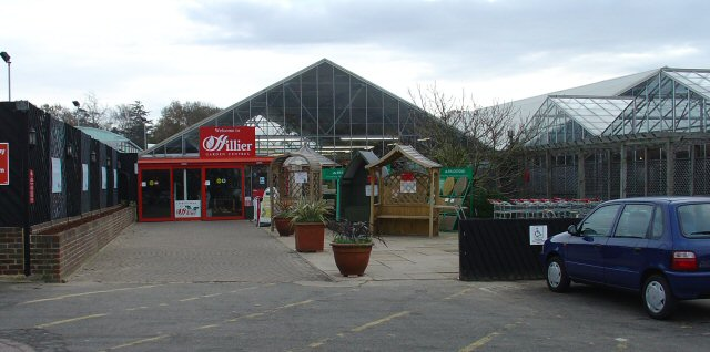 Hilliers Garden Centre, Hornbrook Hill (A281), Horsham, West Sussex