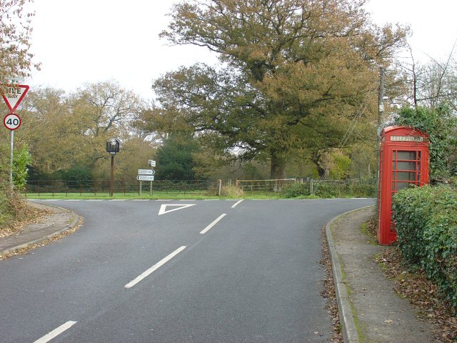 Junction of A281 and Nuthurst Road, Monks Gate, West Sussex
