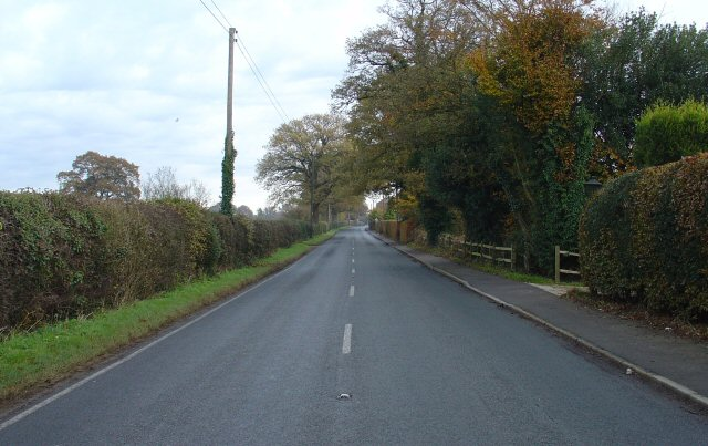 Sandygate Lane (B2115), Lower Beeding, West Sussex