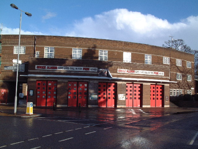 Heston and Isleworth Fire Station