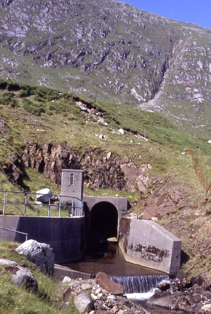 Water Tunnel under Coire Cruachan