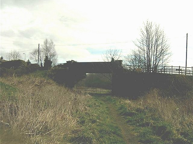 Old Railway Bridge and Line in Banknock (Hollandbush)