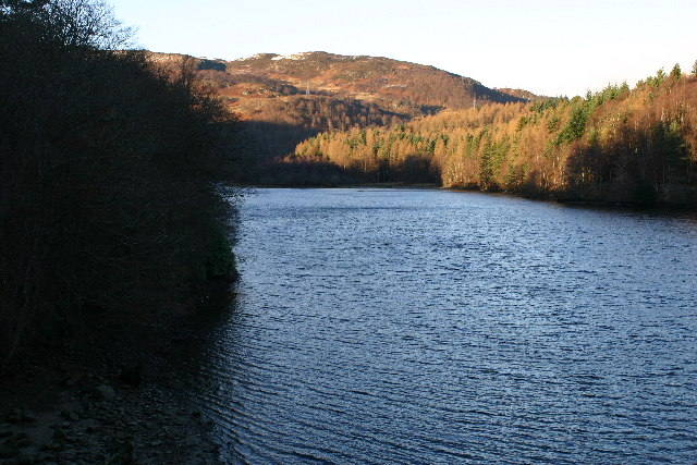 Loch Faskally from footbridge