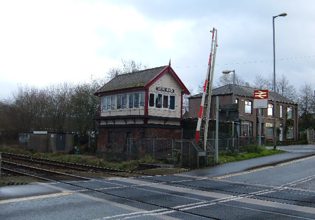 Signal Box and Level Crossing, Smithy Bridge