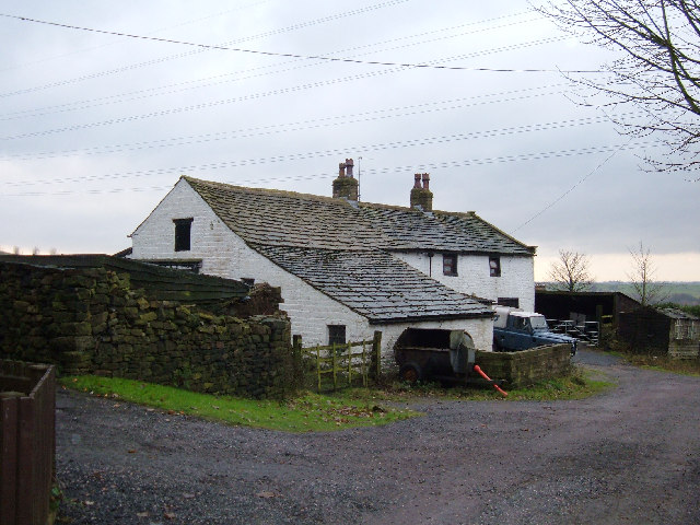 Farmhouse at Lydgate, near Littleborough