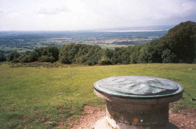 Topograph on Haresfield Beacon