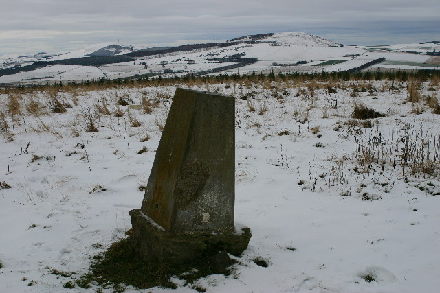 Hill of Rothmaise trig