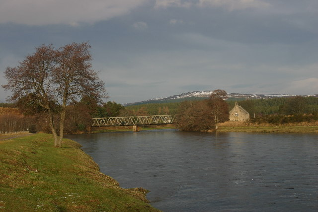 Bridge over River Spey