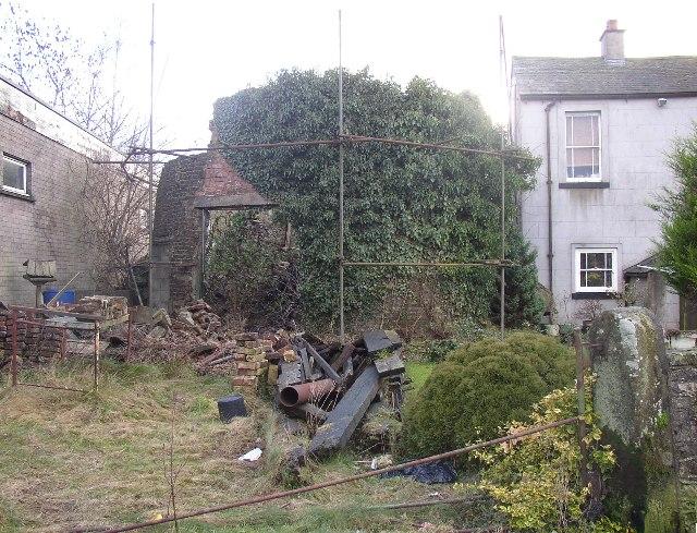 Ruin, Brewery Lane, Cockermouth