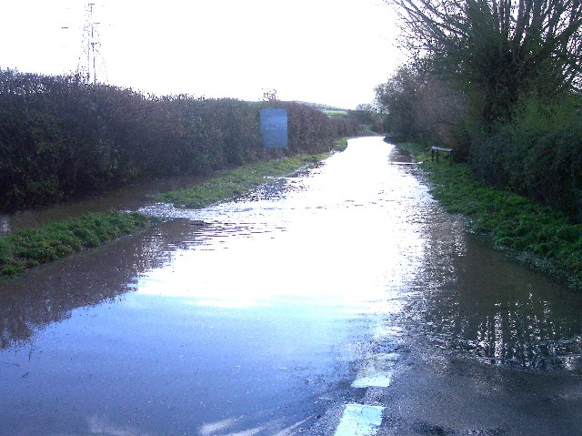 Flash Floods near Ashleworth Meadows