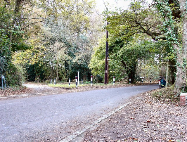 Junction of Spronkett's Lane and minor road to Smiths Cross, West Sussex