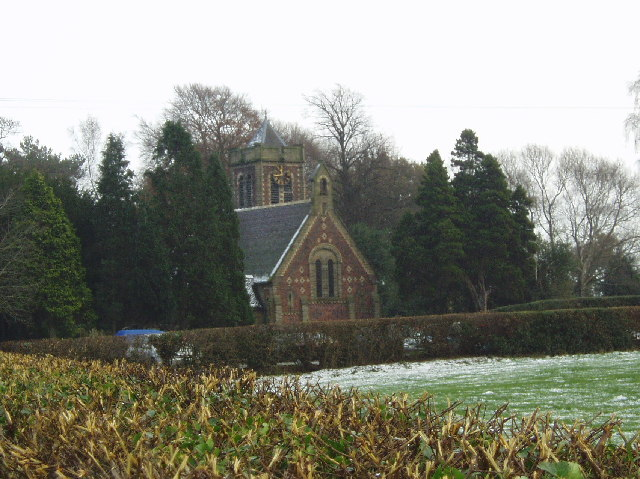 St John the Evangelist  Church at Byley