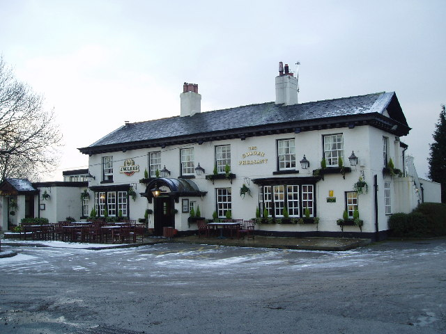The Golden Pheasant at Plumley