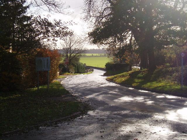 Road to Radwell Bridge