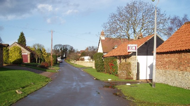 Radwell village