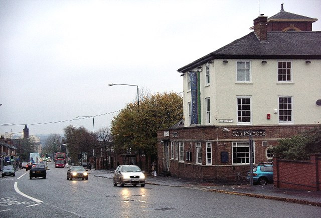 Ilkeston Road & the Old Peacock