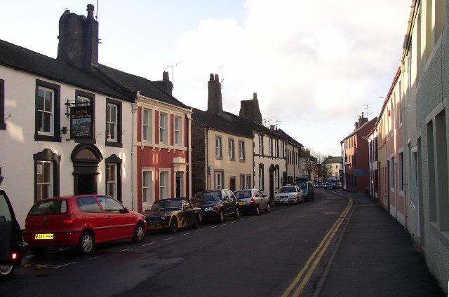 St Helen's Street, Cockermouth