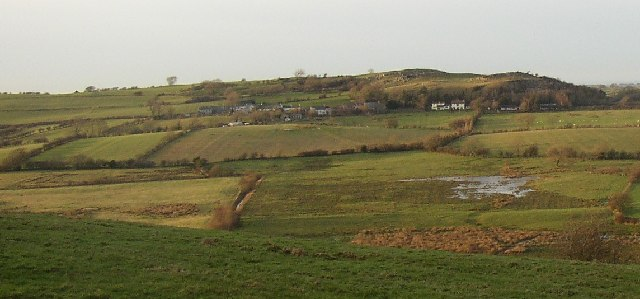View of Black Beck valley and Pardshaw Hall hamlet