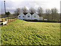 TQ2832 : Mount Pleasant farm, Pease Pottage by Chris Plunkett