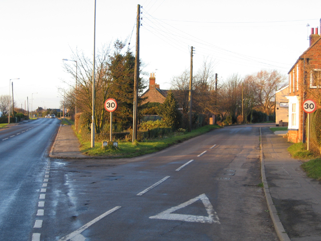 North End, Swineshead, Lincs
