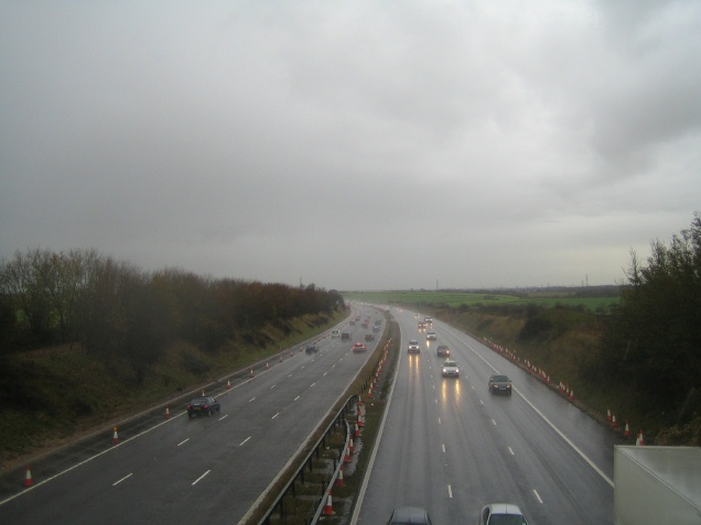 M4 Looking East from Tormarton