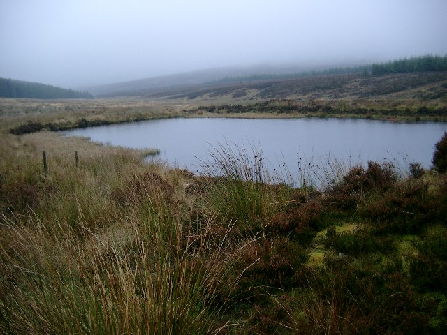 Un-named lochan on the Long Knowe Burn