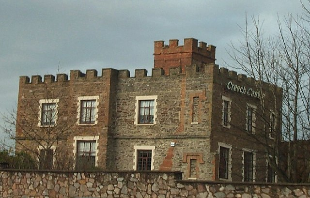 The Creech Castle Hotel. Taunton
