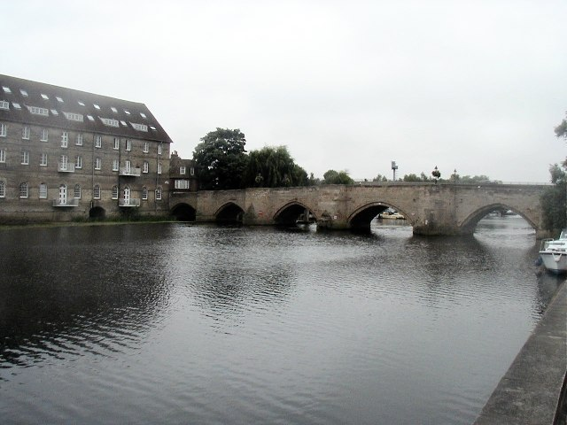 Mill and Bridge, Huntingdon