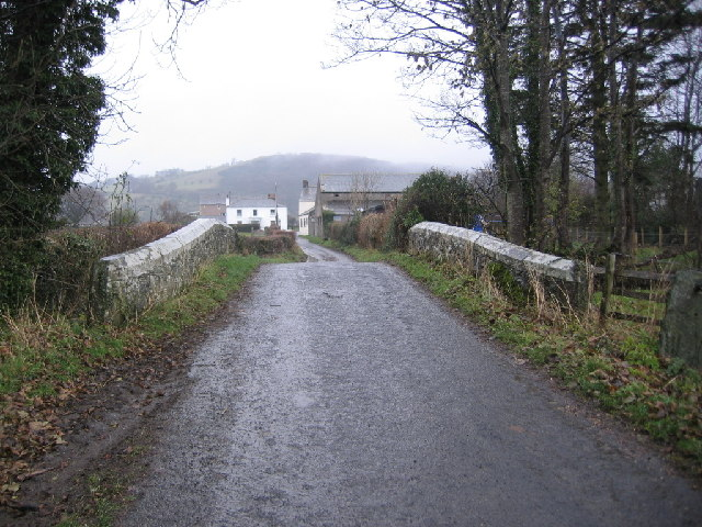 Pack Horse Bridge Near Bassenthwaite.