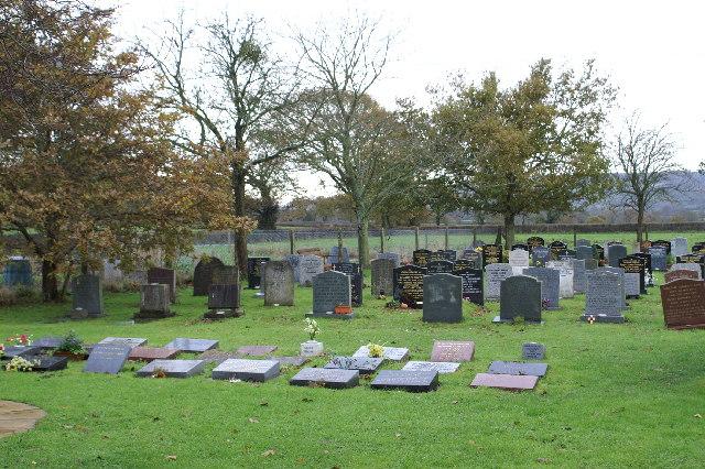 Cemetery on Ilex Lane