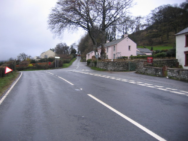 Road Junction at High Side.