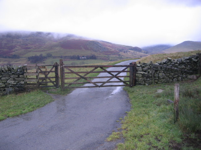 Bridleway with Kissing Gate.
