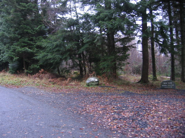 Entrance to Kestrel Lodge and High Close