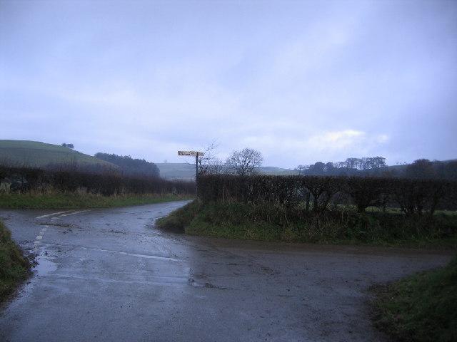 Cross Roads near Overwater.
