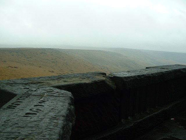 The View from Stoodley Pike in a South Easterly direction