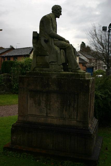 Grave of Henry Bell in Rhu churchyard
