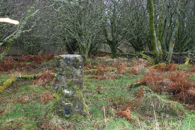 Knockour Hill trig