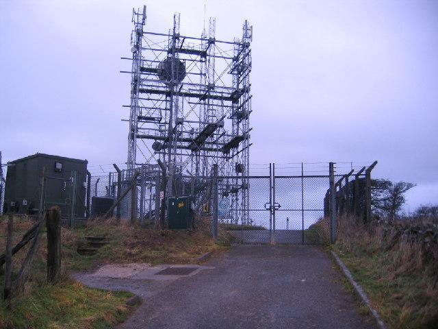 Wharrels Hill transmitter.