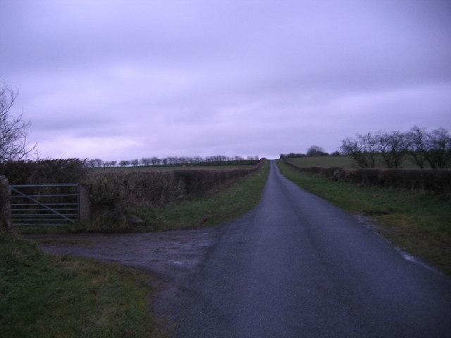 Farm Track Entrance.
